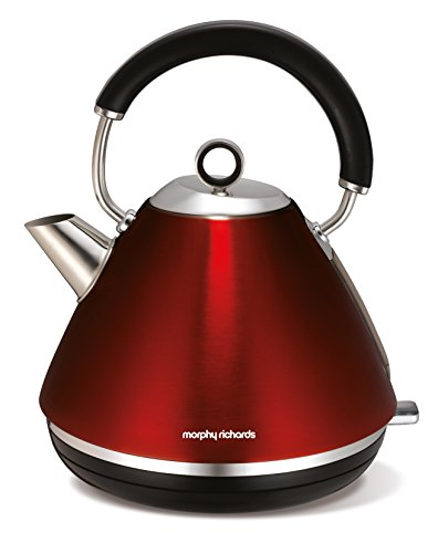 Morphy Richards Wasserkocher Accents rot 102004