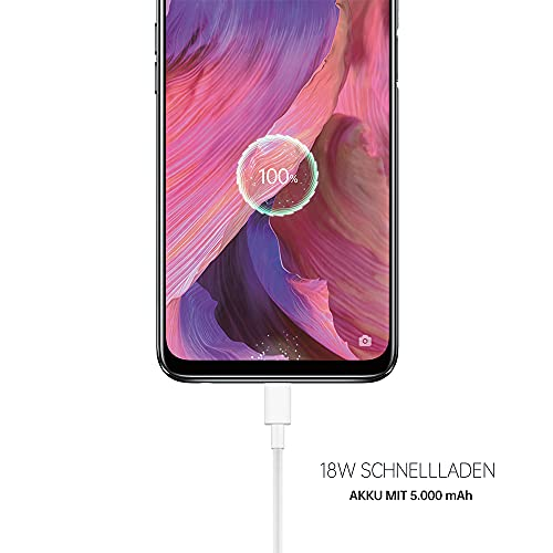 OPPO A54 5G Smartphone, 48 MP KI-Vierfachkamera mit Ultra Nacht Video, 6,5 Zoll 90 Hz FHD+ Neo-Display, 5.000 mAh Akku, 5G-Prozessor, 64 GB Speicher, 4 GB RAM, ColorOS 11.1, Dual-SIM, Fluid Black - 2