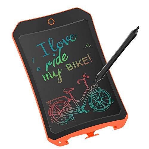 JRD&BS WINL Tablet Di Scrittura LCD Colorato,8,5 Pollici,Usato Per:Disegno Per Bambini, Graffiti,Aritmetica,Bacheca,Ecc.Adatto A Ragazzi Di 4-9 Anni,Giocattoli Per Bambini Interni Ed Esterni,Arancione
