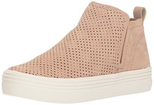 Dolce Vita Women's Tate PERF Sneaker, Sand Nubuck, 8.5 M US