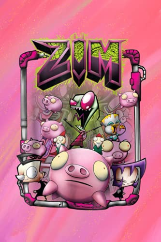 Outfit Planner Log Book: Nick.elo.deon Invader Zim Rubber Piggy Army