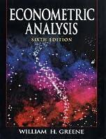 Econometric Analysis: International Edition