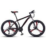 SOAR Bicicleta de montaña Las Bicicletas MTB MTB Camino de la Bicicleta de los Hombres de 24 bicis de la Velocidad de 26 Pulgadas Ruedas for Mujeres Adultas (Color : C)