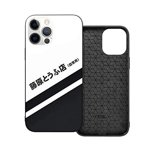 Compatible con iPhone Samsung Galaxy M11/M12 /Xiaomi Redmi Note 10 Pro/Note 9/Poco X3 Pro Funda Initial D Ae86 Tofu Decal Running In The 90s Cajas del Teléfono Cover