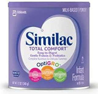 Similac Total Comfort Infant Formula Powder, 12.6 Ounce Can -- 6 per case.