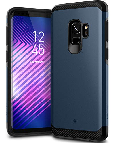 Caseology Legion for Galaxy S9 Case (2018) - Reinforced Protection - Midnight Blue