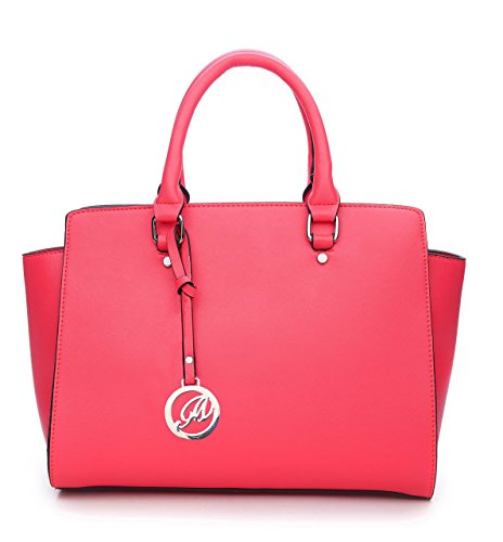 K664018L MyLux Women Fashion Designer Purse handbag (664018CORAL1)