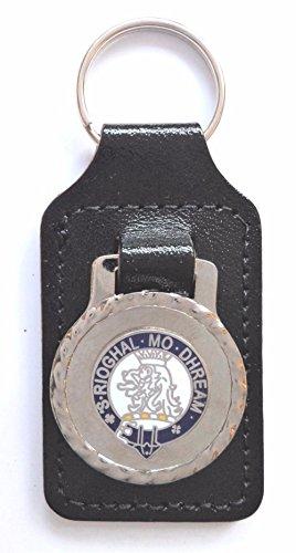 1000 Flags Nom de Famille MacGregor Clan écossais Nom Crest en émail et métal Porte-clés/FOB