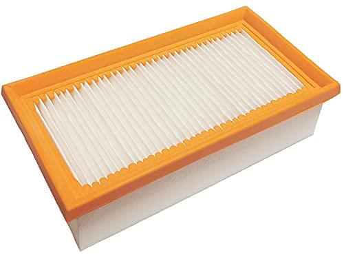 Filtro plisado plano R 802/2, lavable, apto para Kärcher 6.904-068, Kärcher K 2000 E, Kärcher K 2000 TE, Kärcher K 3500 E, Kärcher K 3501, Kärcher NT 14/1 Classic