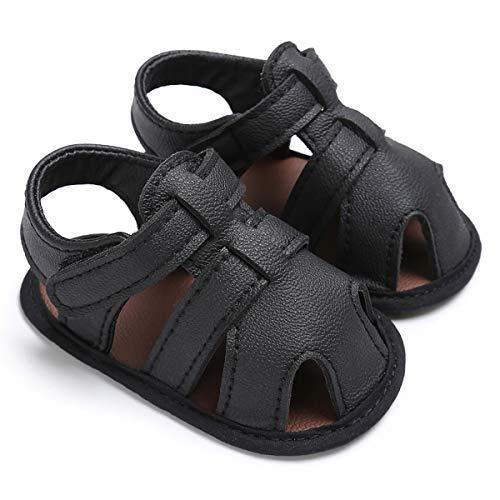 Chennie 0-18M Infantes Recién Nacidos Niños pequeños Sandalia Suela Blanda Antideslizante Zapatos...