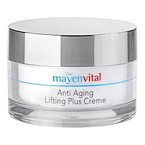 mayenVITAL Anti Aging Lifting Plus Creme, Feuchtigkeits - & Anti Aging Pflege Gesichtspflege, Straffungseffekt. 175 ml