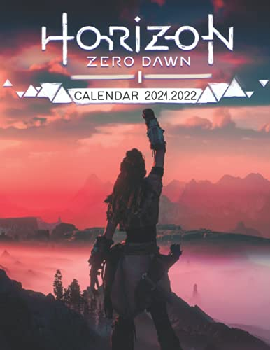 Horizon Zero Dawn: 2021 – 2022 Games Calendar – 18 months – High Quality Images