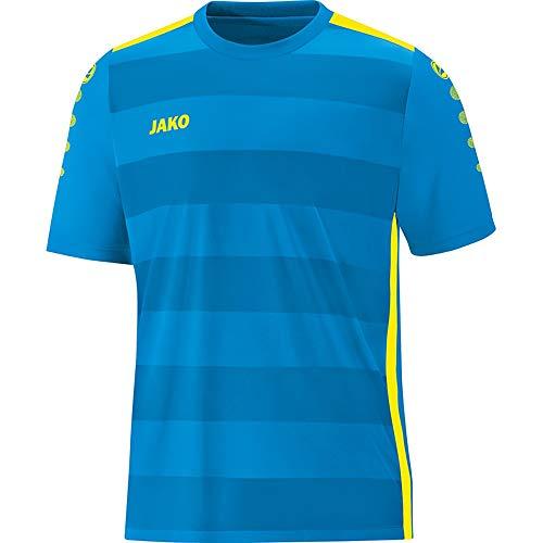 JAKO Herren Trikot Celtic 2.0 KA, blau/Neongelb, M