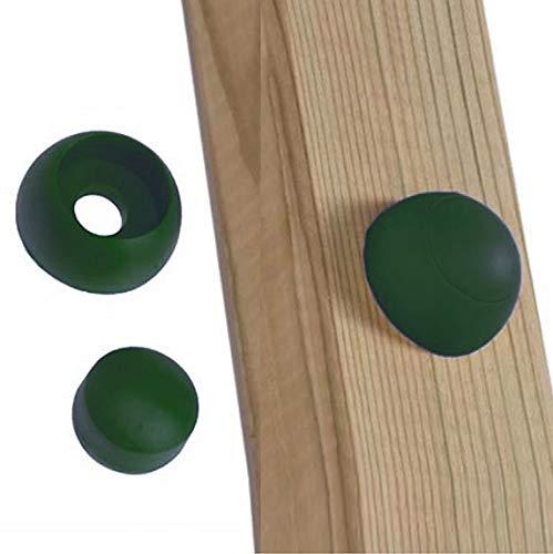 GK Schrauben-/Bolzenabdeckung grün, für Spielturm/Schaukel, Paket: 20 Stück