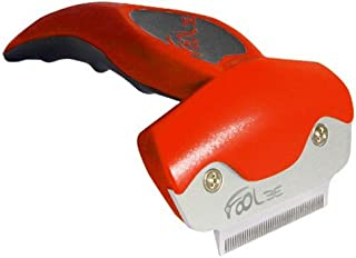 FoOlee One De-Shedders, Small, Light Red