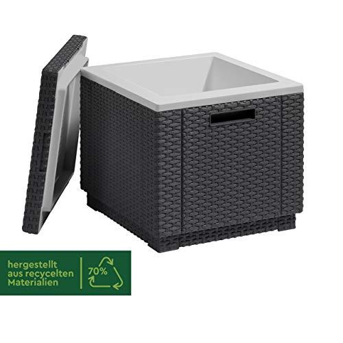Allibert Beistelltisch/Kühlbox Ice Cube 40 Liter, graphit - 3