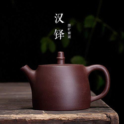 Taza de café,Taza de té, Taza de té Tetera de Arcilla púrpura Old Han Han Duo Duo Pot Tetera Grande Color de Soporte de Producto: Mudo Morado (Color : Purple mud)
