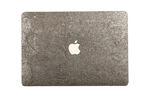 WOODWE Real Stone Macbook Skin Sticker Sticker Sticker Top en onderkant Cover Pro 13 | With CD Drive