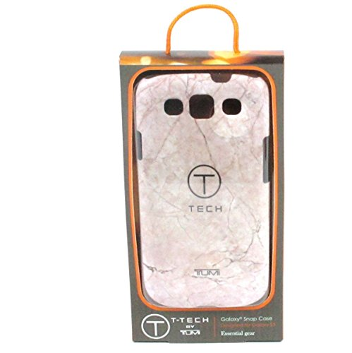 T-Tech by Tumi Snap-On Case for Galaxy S3 - Retail Packaging - Rubberized Ancient Marble