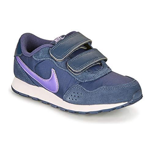 Nike MD Valiant (PSV), Zapatillas para Correr, Thunder Blue Purple Pulse White, 28 EU