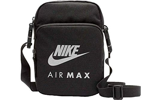 Nike Air Max 2.0 Cross-Body Bag BA5905-010; Unisex Sachet; BA5905-010; Black; One Size EU (UK)