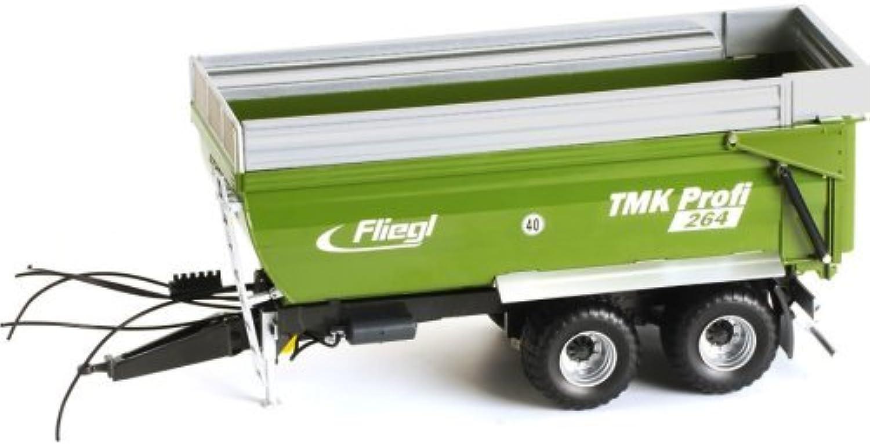 nueva gama alta exclusiva ROS Fliegl TMK TMK TMK Profi 264 Tandem Tipper Trailer  Con precio barato para obtener la mejor marca.