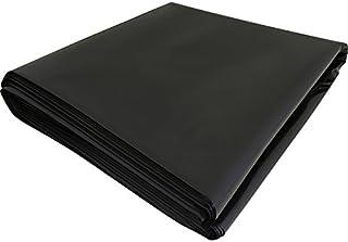 Lona impermeable de polietileno negro, de 4 x 5 m (1000 g)