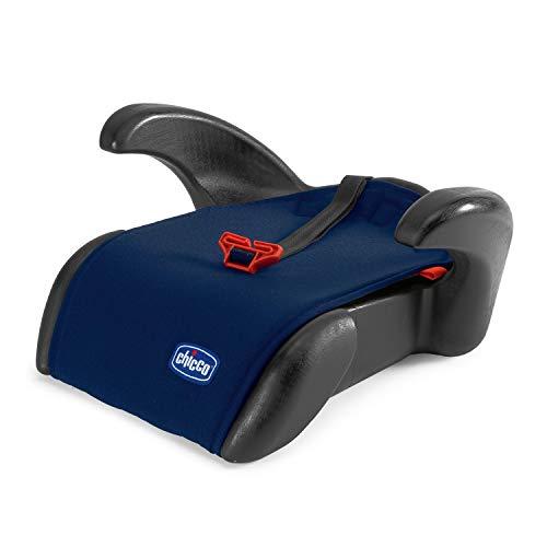 Chicco Quasar Plus Siège Auto Bébé Rehausseur pour Enfants de 3 à 12 ans, Facile à Installer, avec Accoudoirs Confortables et Guides pour Ceinture de Sécurité - 15 36 Kg - Groupe 2 3 - Bleu