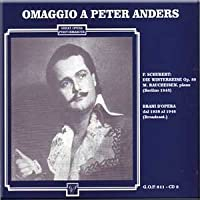 Puccini, Mozart, Bizet, Mozart, Verdi - Omaggio a Peter Anders (Limited Edition) (2 CD Set) (CD) (1998-05-03)
