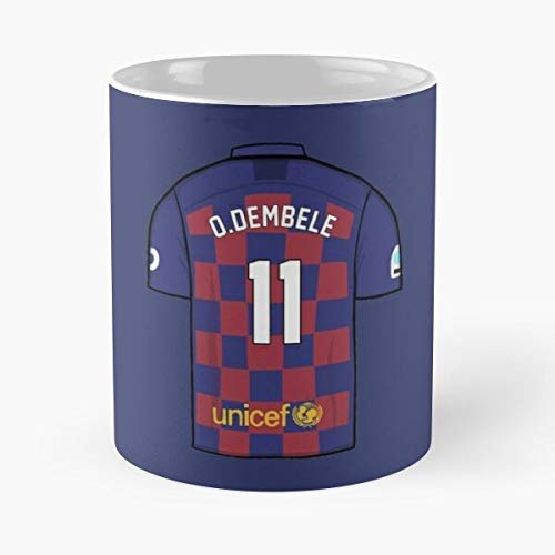 Barcelona - Ousmane Dembélé Classic Mug -11 Oz Coffee Funny Sophisticated Design Great Gifts White-situen.
