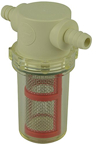 """3/8"""" Hose Barb in-Line Strainer with 20 mesh Stainless Steel Filter Screen"""