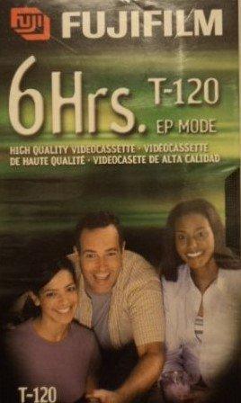 Find Bargain Fujifilm VHS Videocassette 6 Hrs. T-120 EP Mode (2 Pack)