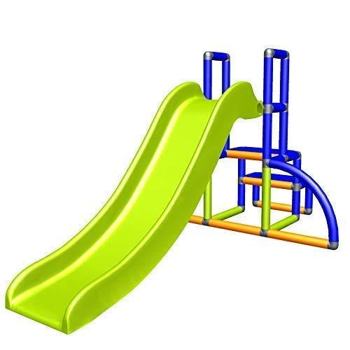 move and stic Kinderrutsche Kinder My First Slide Meine Erste Rutsche Spielzeug Babyrutsche Gartenrutsche Moveandstic (blau / Apfelgruen / orange)
