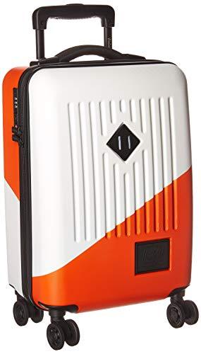 Herschel Supply Co. Trade Hardside Spinner Gepäck, Weiß/Vermillion Orange (Mehrfarbig) - 10508-02251-OS