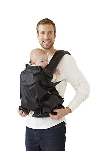 Ergobaby Water Resistant Baby Carrier Rain Cover, Black