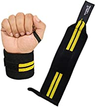 WRIST SUPPORT WRAPS GYM WEIGHT LIFTING FITNESS EXERCISE BANDAGE STRAPS