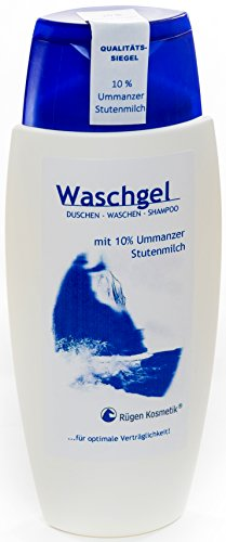 Rügen Kosmetik Waschgel mit 10% Ummanzer Stutenmilch 150ml