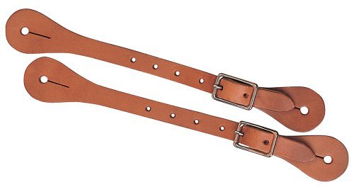 Weaver Leather Burgundy Latigo Leather Spur Straps by Weaver Leather