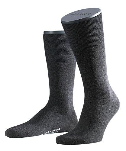 FALKE FALKE Herren Socken Airport, mit Merinowolle und Baumwolle, Business Socken zum Anzug, Größe 39-50, 1er Pack
