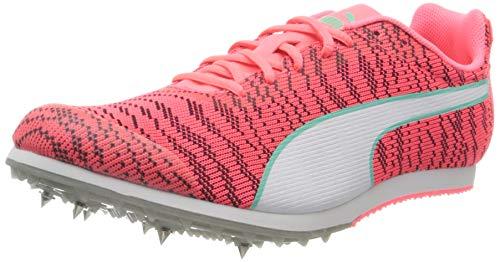 PUMA Unisex Adult Evospeed Star 6 Junior Sneaker, Ignite Pink White Black, 38 EU