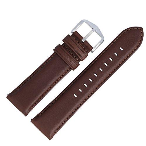 Fossil Uhrenarmband 22mm Leder Braun - FS-4813 | LB-FS4813