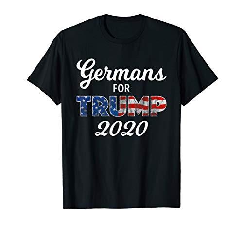 Germans For Trump 2020 T-Shirt