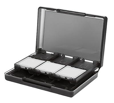 AmazonBasics Nintendo 3DS Game Card Storage Case with 24 Cartridge Slots - Black