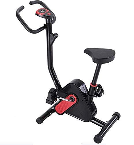 Phil Beauty Bicicleta Estática Plegable Pantalla LCD Bicicleta Controlada Magnéticamente Carga 150Kg Ejercicios Aeróbicos Musculares