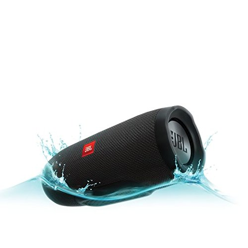 JBL Charge 3 JBLCHARGE3BLKAM Waterproof Portable Bluetooth Speaker (Black)