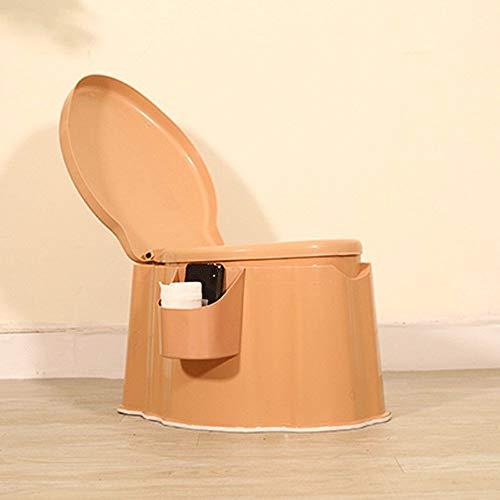 TERMALY Toilette Mobile de Voiture de Voyage, Toilette de Voiture, Plastique Domestique de Toilette, Femmes Enceintes portatives, Toilette, Peut Supporter 150 kg,Bottombucket