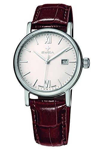 Swiza Wat.0121.1001 Alza Reloj analógico de Cuarzo Suizo para Mujer
