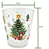 Zoom IMG-1 set bicchieri acqua sei natalizi
