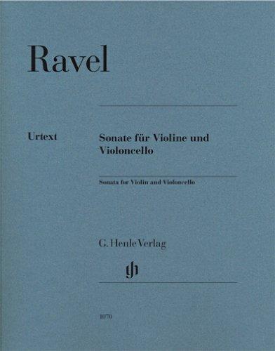 Sonate für Violine und Violoncello: Violine und Violoncello; ; Kammermusik ; ; mit bezeichneten und unbezeichneten Streicherstimmen;