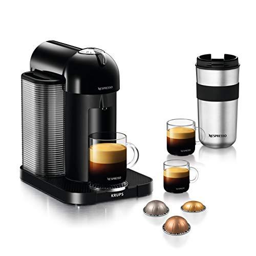 Krups Nespresso Vertuo XN9018 Machine à capsules avec réservoir d'eau 1,2 l pour 5 tailles de tasses, noir